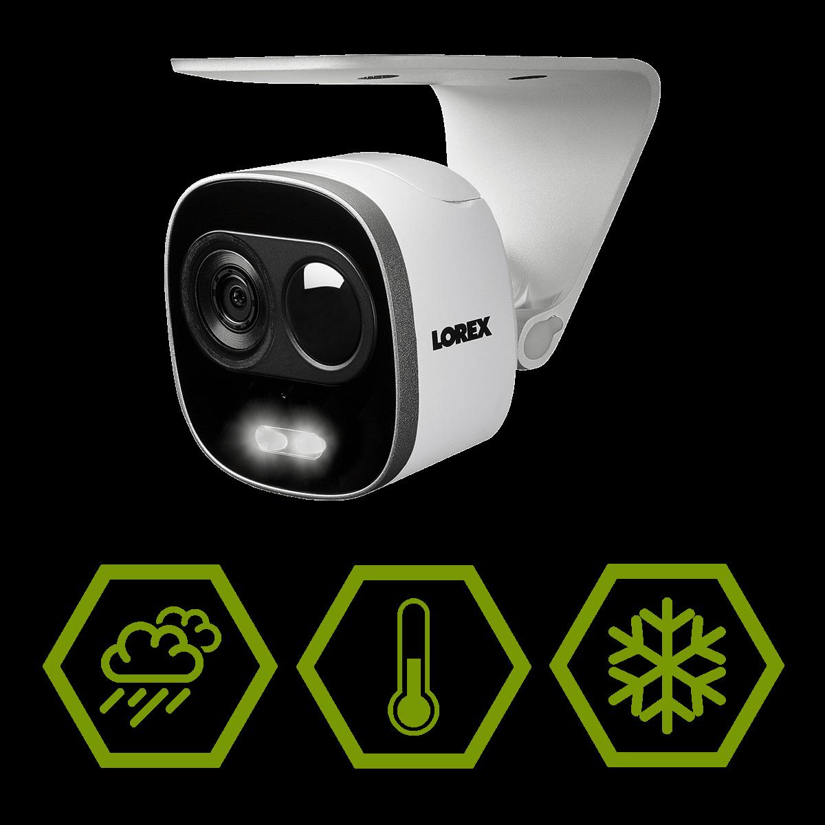 IP65 weatherproof wifi camera