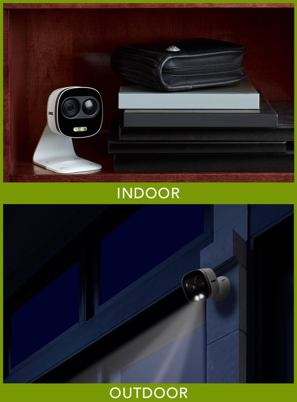 indoor outdoor wifi security camera