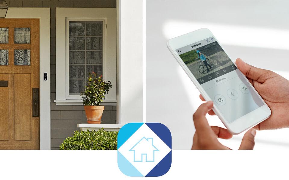 wifi doorbell lorex home app