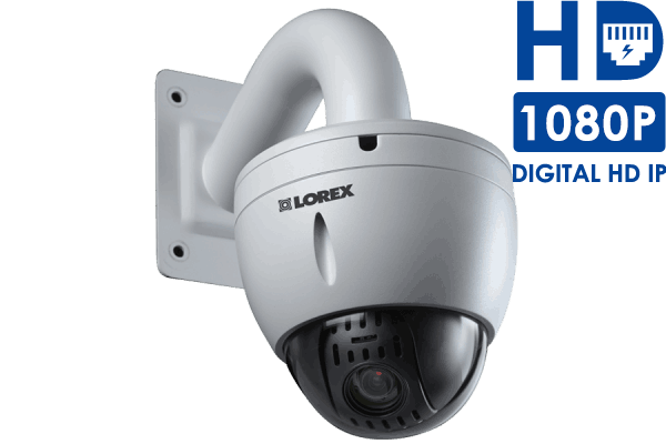 HD PTZ IP camera with 12x Optical Zoom - 1080p
