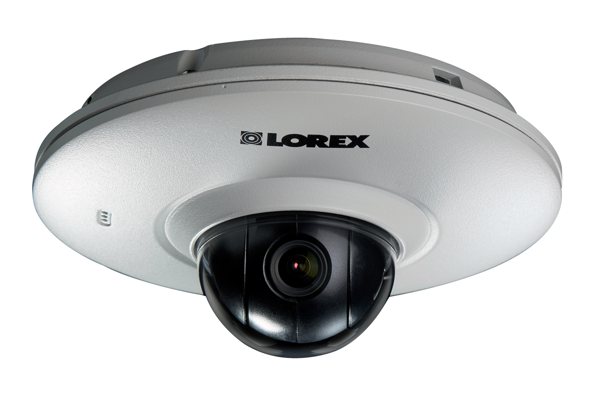 Outdoor Audio Hd Pan Tilt Ip Dome Security Camera Lorex