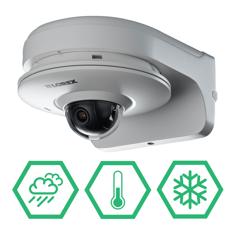 Extreme weather security cameras
