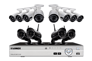 Wireless Security Camera System with Ultra-Wide Cameras and 16 Channel HD 1080p DVR