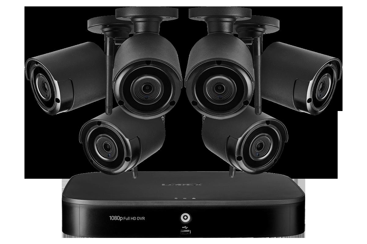 LW1684UW wireless security camera system from Lorex