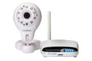 Home security camera with remote viewing via Mac, PC, iPhone & iPad