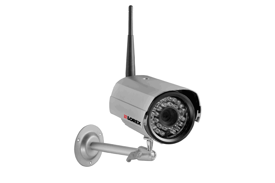 Add-on wireless security camera