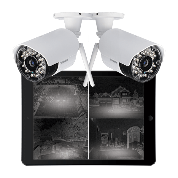 professional quaility night vision wireless security cameras