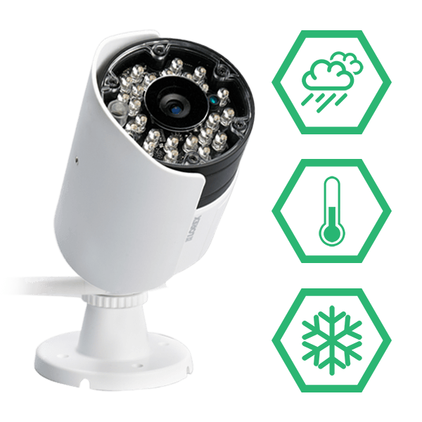 wireless weatherproof vandal resistant security cameras