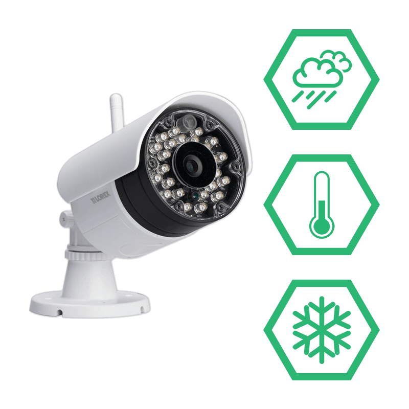 Weatherproof wireless security cameras that can hold up to the most unforgiving climates for your home