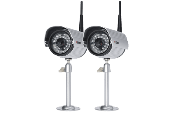 Outdoor high resolution wireless cameras