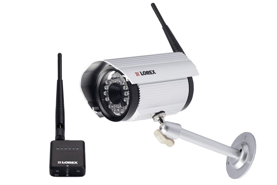 Wireless camera with audio