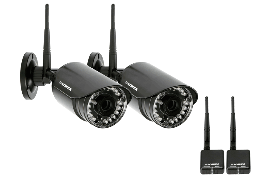 Wireless outside cameras