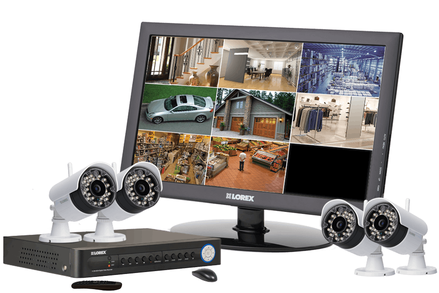 Wireless cctv security systems