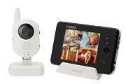 Infant baby monitor with wireless camera