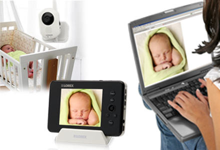 Baby monitor with recording