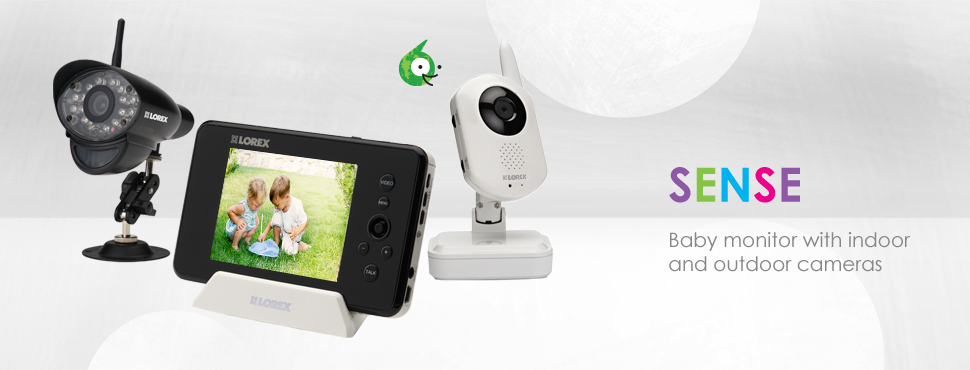 Baby monitor with outdoor camera