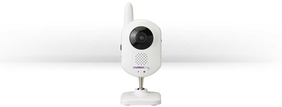 Wireless baby monitor with 2 cameras