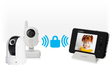 baby monitor with two way audio