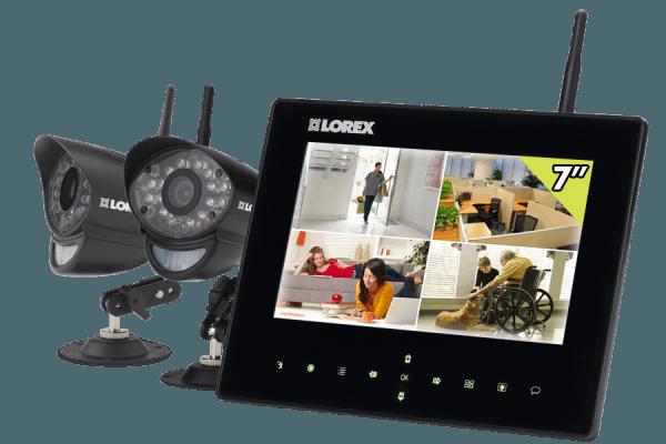 Home camera systems