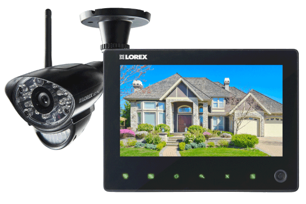 Wireless home monitoring system