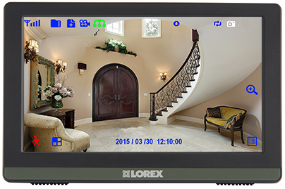 "7"" LCD monitor / recorder"