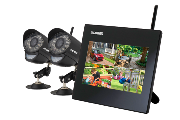 Wireless home camera system Lorex Live SD9 series