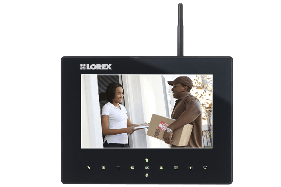 Home wireless video security system