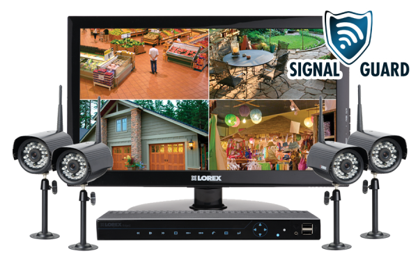 4 channel security system