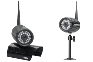 Wireless security surveillance system with 4 outdoor wireless cameras and monitor