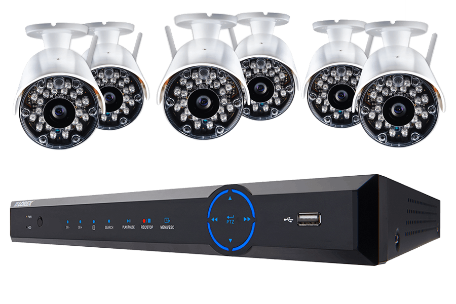 Wireless camera surveillance system