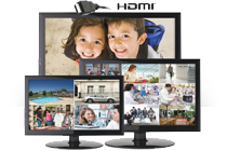 multiple monitors, HDMI support