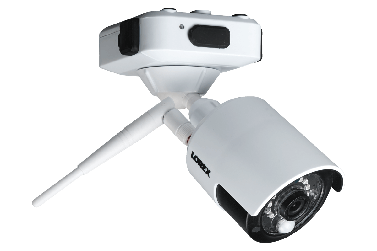 1080p HD Wire Free Camera System with 4 Outdoor Battery Operated ...