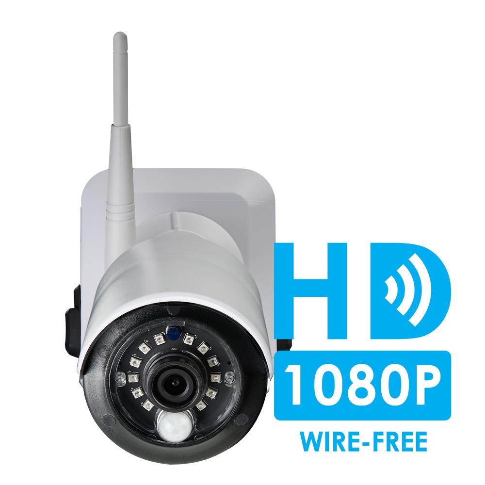Wire Free Security Camera System Lorex Ipad Wiring Diagram Crisp 1080p Hd Quality Recordings