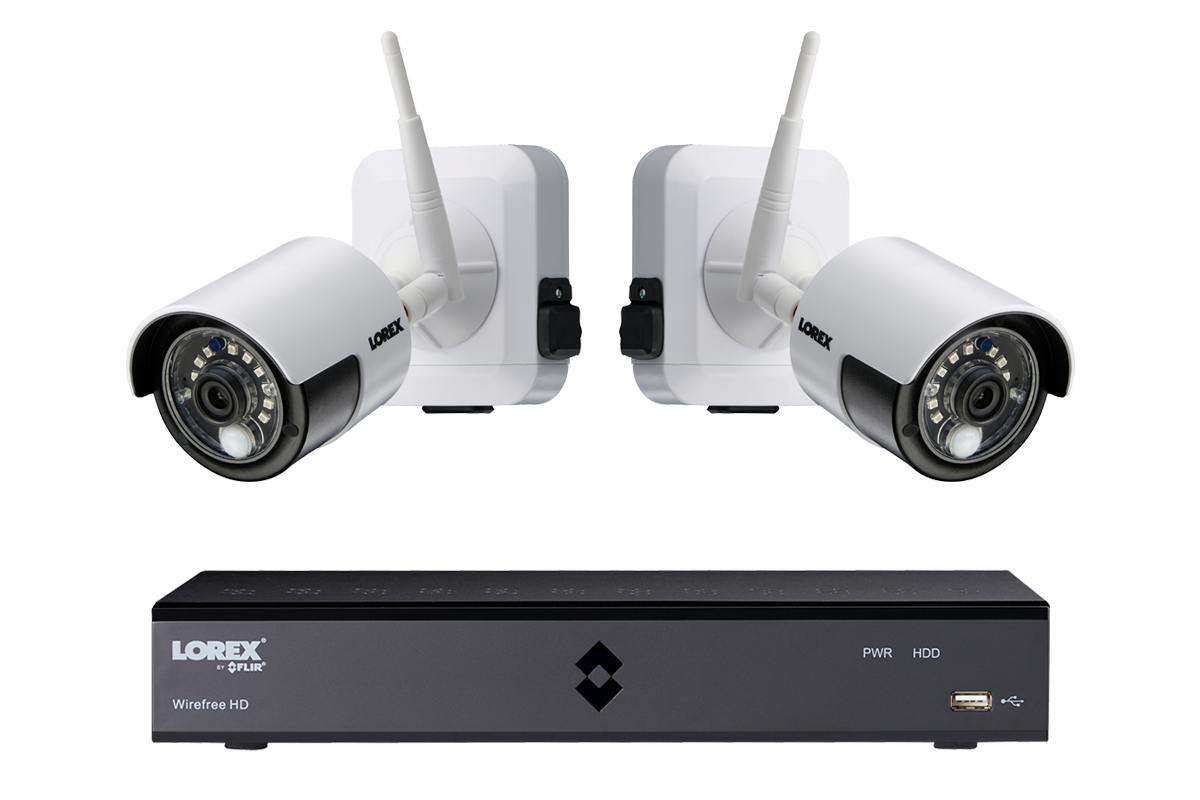 1080p Outdoor Wireless Camera System 4 Rechargeable Wire Free Wiring Garage Lights Moreover Tiny House With Screen Porch On 2 Battery Powered White Cameras 40ft Night