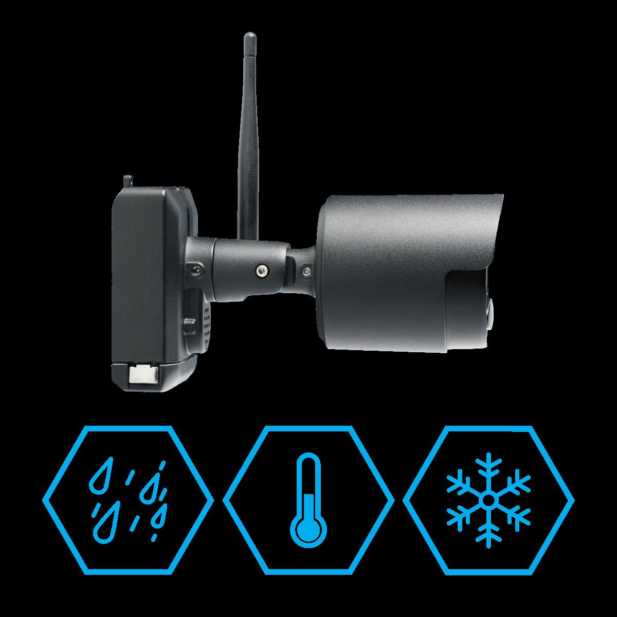 weatherproof waterproof wire-free security camera