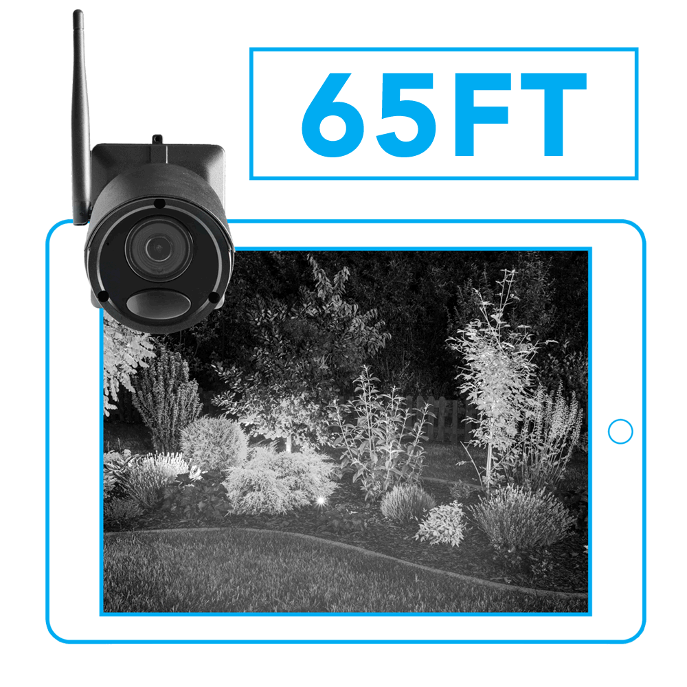 infrared night vision wire-free