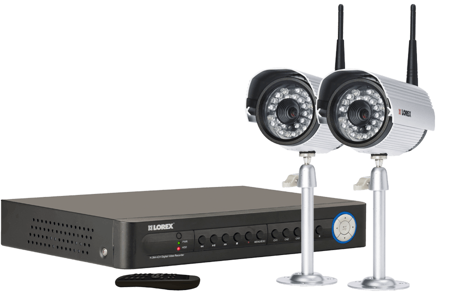 Video surveillance system - 2 camera security system