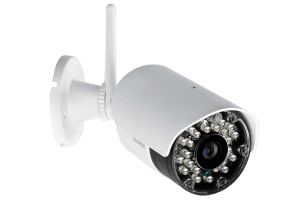 Outdoor wireless security camera system