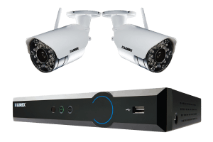 LH030 Eco Blackbox 3 Series 4-Channel Security Camera System with Weatherproof Wireless Cameras