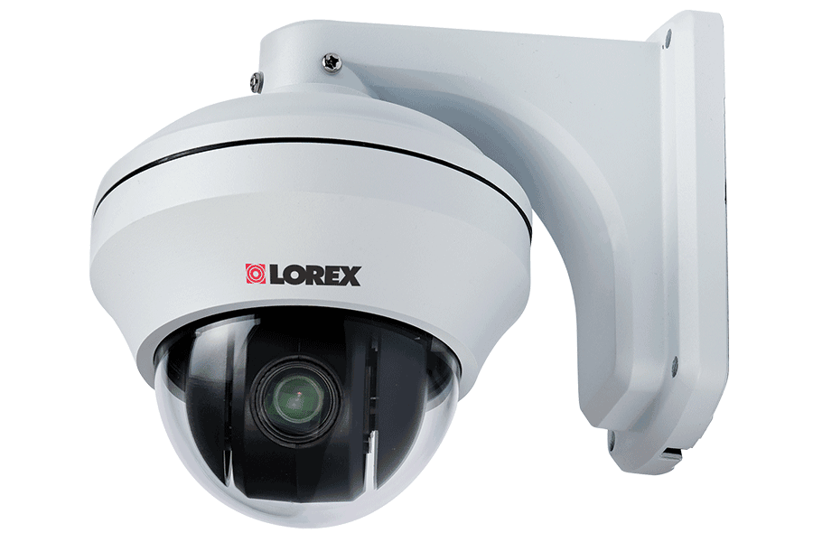 Pan-Tilt-Zoom security cameras with 10x Zoom (2-pack) | Lorex