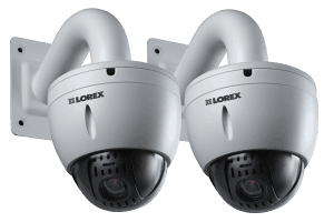 12x Pan-Tilt-Zoom HD Security Speed Dome Camera (2-Pack)
