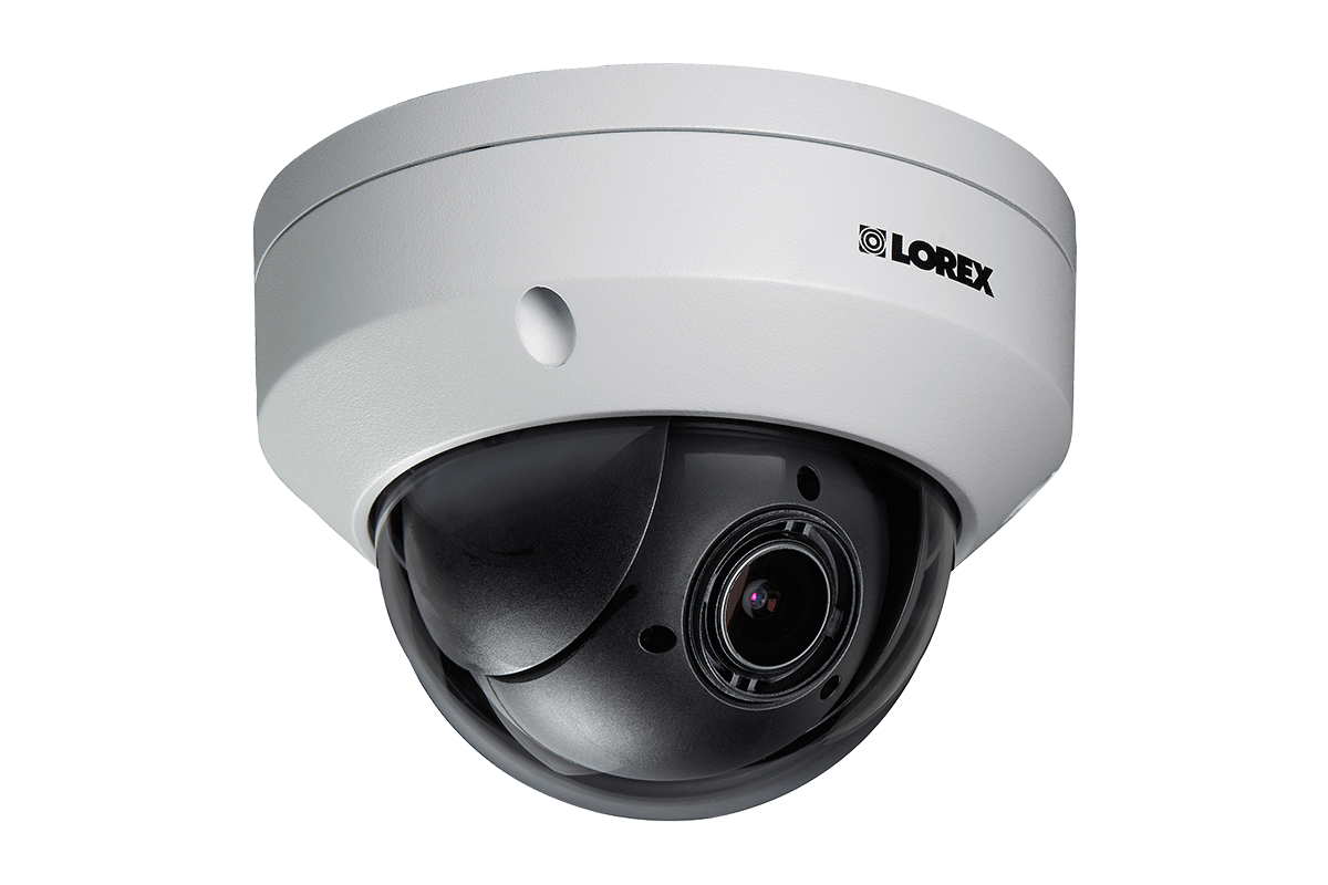 easy to install LZV2622 PTZ mpx security camera from Lorex by FLIR