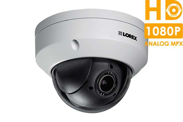 MPX HD 1080p PTZ Camera with Color Night Vision | Lorex