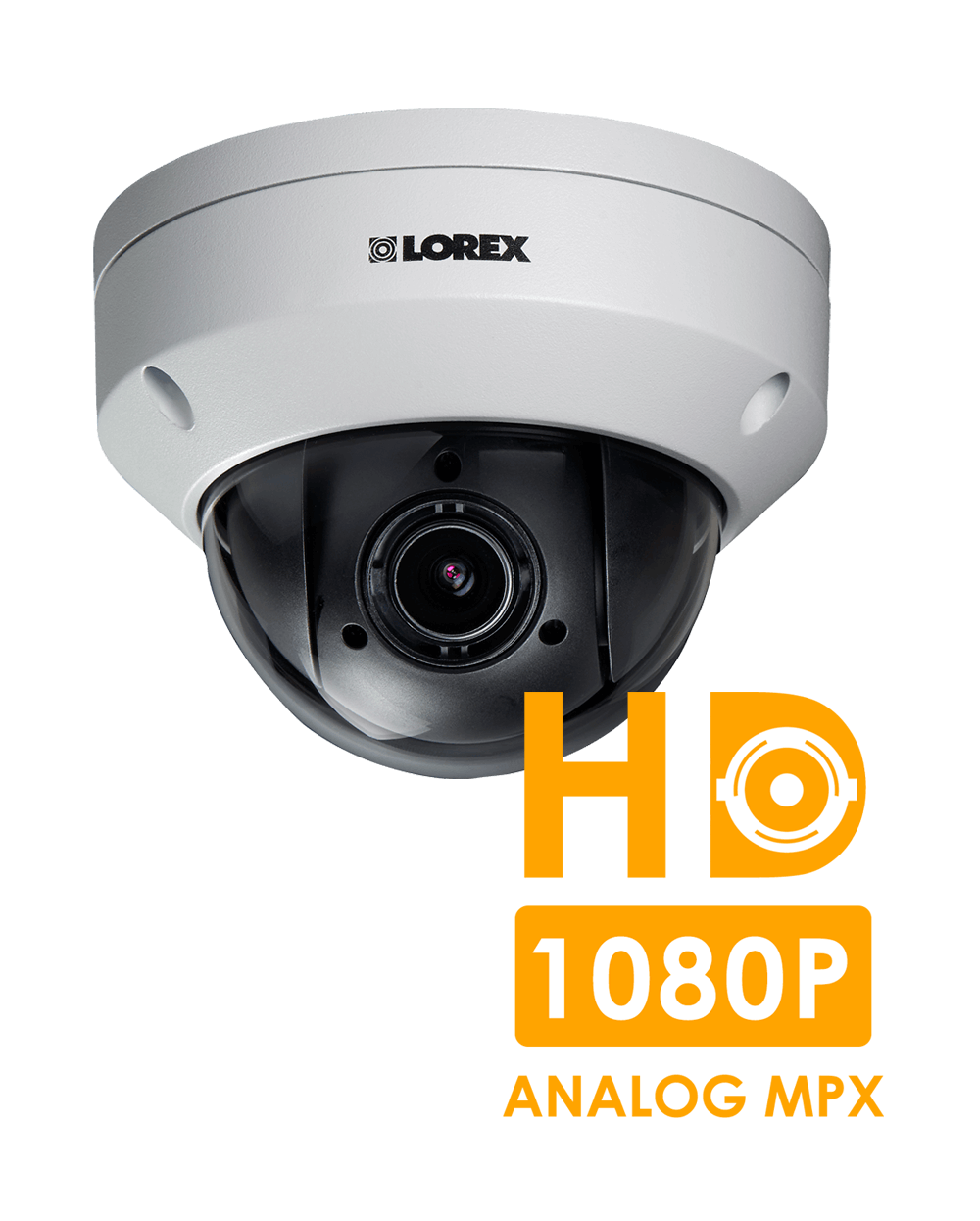 1080p HD security camera with PTZ