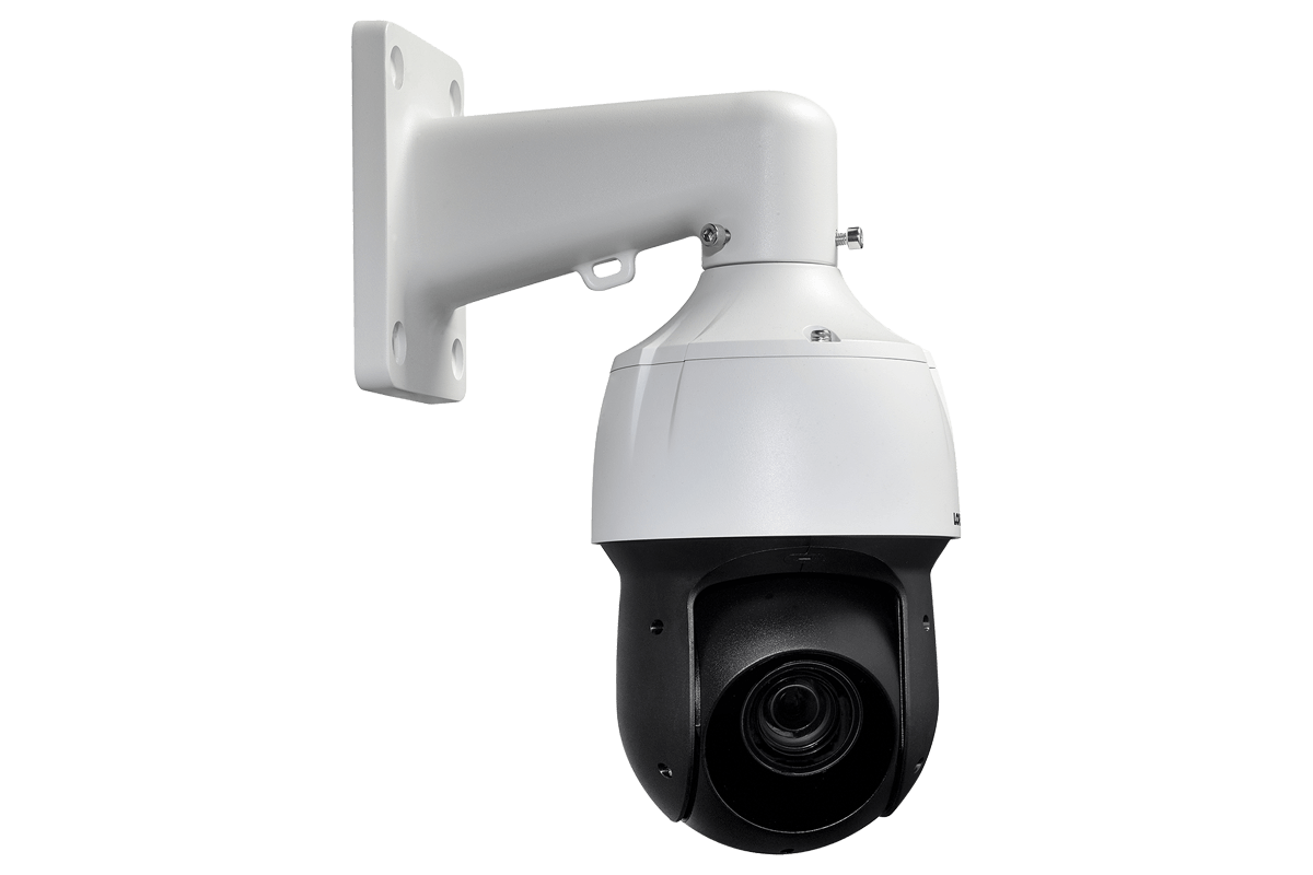 Powerful 1080p HD Home Security System with 2 25× Optical Zoom 1080p Metal  PTZ Cameras, Color Night Vision