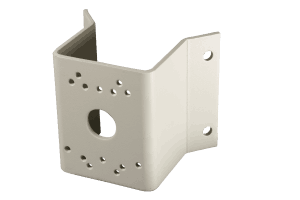 Corner mount security bracket