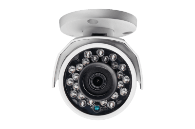 HD surveillance camera system with 16 HD cameras including 4 with ultra wide angle view