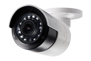 Ultra wide angle security camera system with HD 1080p resolution