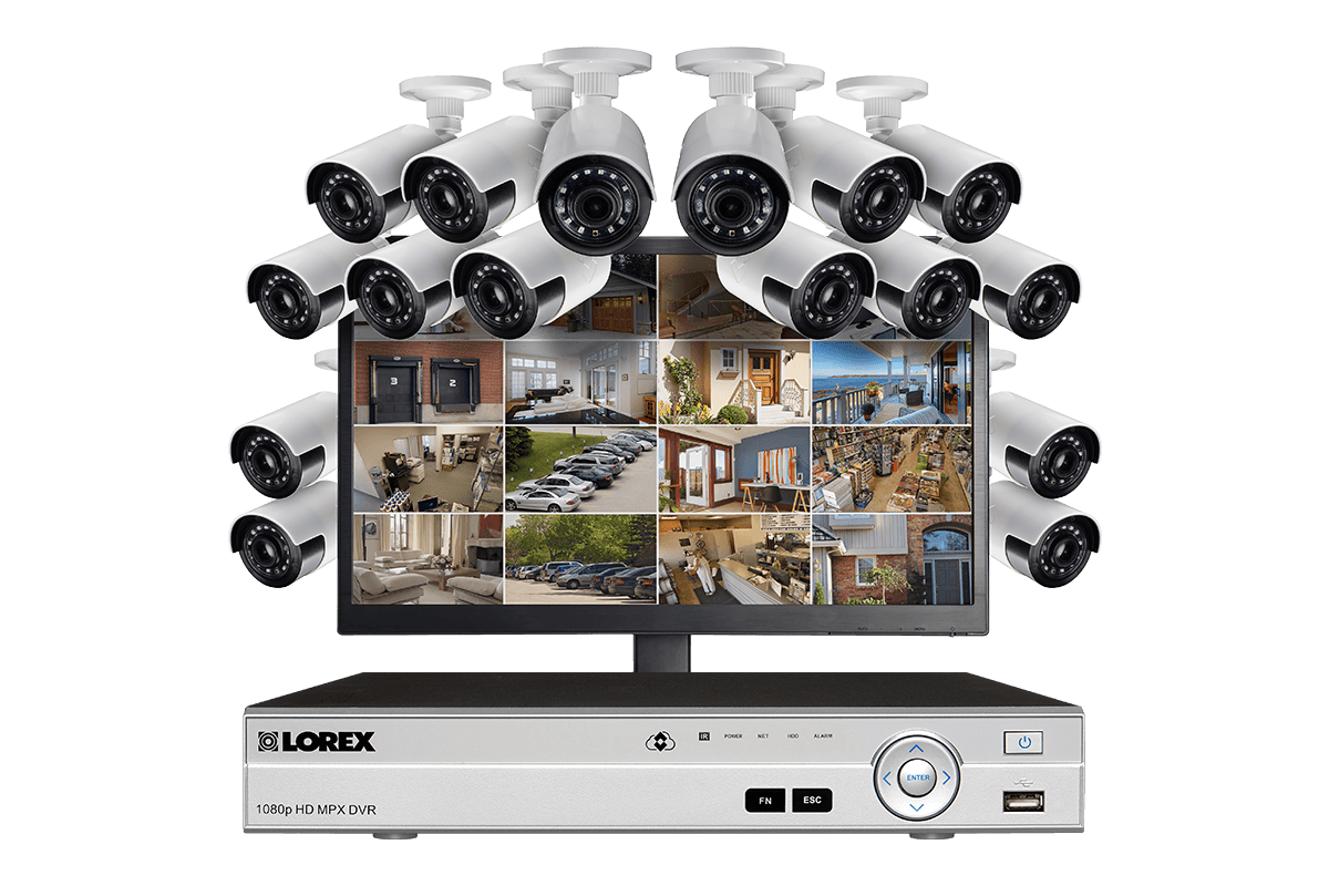 Lorex Technology Reviews - HD 1080p Surveillance Camera System with Free 24