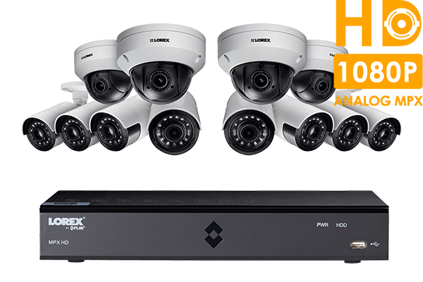 HD 1080p Home Security System featuring 8 Ultra Wide Angle Cameras ...